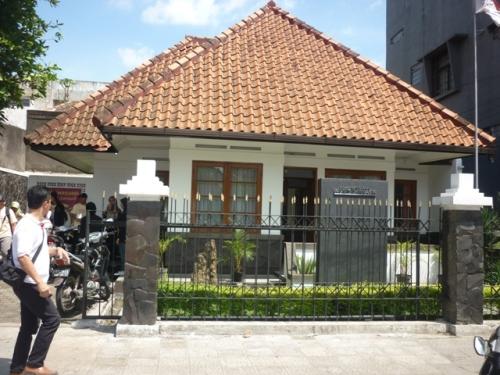Rumah Bersejarah Inggit Garnasih di Jalan Ciateul